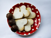 我心爱的甜点 免版税库存照片