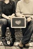 我心脏总是和永远您 免版税库存照片