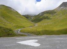 我心脏阿尔卑斯 免版税图库摄影
