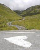 我心脏阿尔卑斯 免版税库存照片