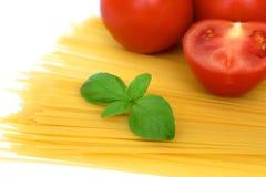 我意大利面食设置 免版税库存照片