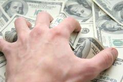 我所有的货币 免版税库存图片