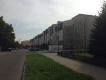 我新的家在华沙 库存照片