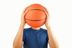 我是篮球 库存照片