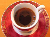 我爱上等咖啡 免版税库存图片