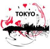 我爱东京 免版税库存图片