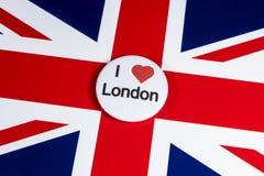 我爱伦敦 库存图片
