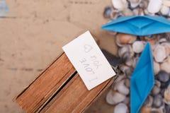 我爱你在葡萄酒书的标志 与词的笔记 库存照片
