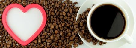 我爱咖啡 免版税库存图片
