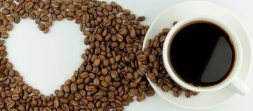 我爱咖啡 免版税图库摄影