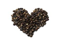 我爱咖啡 免版税库存照片