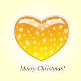 我爱圣诞快乐 免版税图库摄影