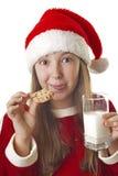 我爱圣诞节曲奇饼 库存图片