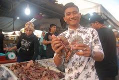 我爱大虾 免版税图库摄影