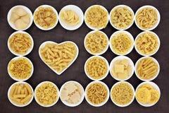我爱意大利面食 免版税库存照片