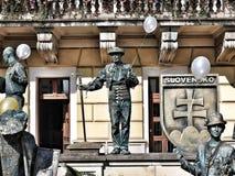我爱斯洛伐克 库存照片