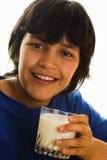 我爱牛奶 库存图片