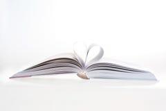 我爱的书 免版税库存照片