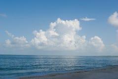 我爱的云彩 库存图片