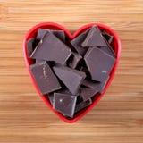 我爱的巧克力 免版税库存照片