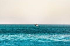 我爱的海滩 免版税库存图片