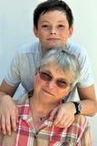 我爱祖母 免版税库存图片