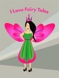 我爱童话 免版税库存图片