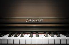 我爱音乐-背景 库存图片