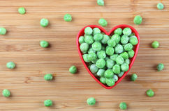 我爱绿豆 库存图片