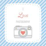 我爱photography1 免版税库存图片
