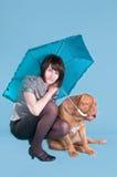 我的伞 免版税库存照片