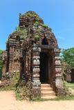 我的儿子寺庙复合体-越南 免版税库存图片