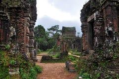 我的儿子失去的寺庙,越南 免版税库存照片