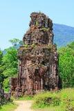 我的儿子,越南联合国科教文组织世界遗产名录 免版税图库摄影