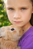 我的兔子 免版税库存图片
