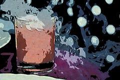 我的关于冷的饮料的幻想 库存照片