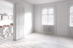 我的城市公寓& x28; design& x29; 向量例证