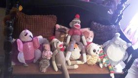 我的填充动物玩偶 库存图片