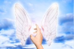 我的天使 免版税库存图片