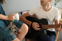 我的妻子的歌曲 免版税图库摄影