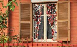 我的家窗口  免版税库存照片