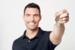 我的新房钥匙  ! 免版税库存照片