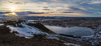 我的旅行向美妙的冰岛 免版税图库摄影