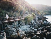 我的桥梁 库存照片