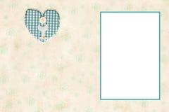 我的第一张圣餐照片框架卡片 免版税库存照片