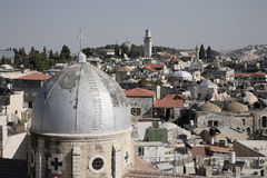我的耶路撒冷 库存照片
