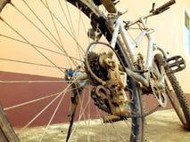 我的自行车 库存图片