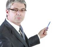 我的行业是商人 免版税库存照片