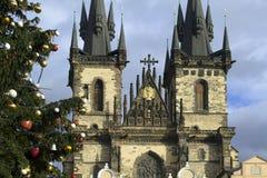 我的记忆和印象从布拉格圣诞节2018年 免版税库存照片
