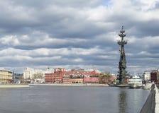 我纪念碑彼得 莫斯科 免版税库存照片